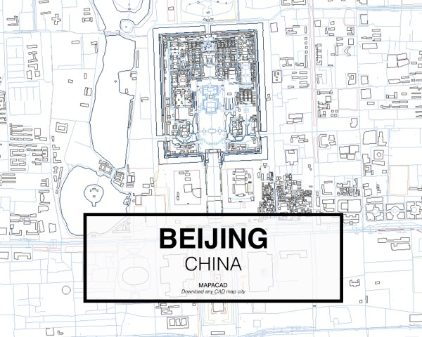 Beijing-China-03-Mapacad-download-map-cad-dwg-dxf-autocad-free-2d-3d