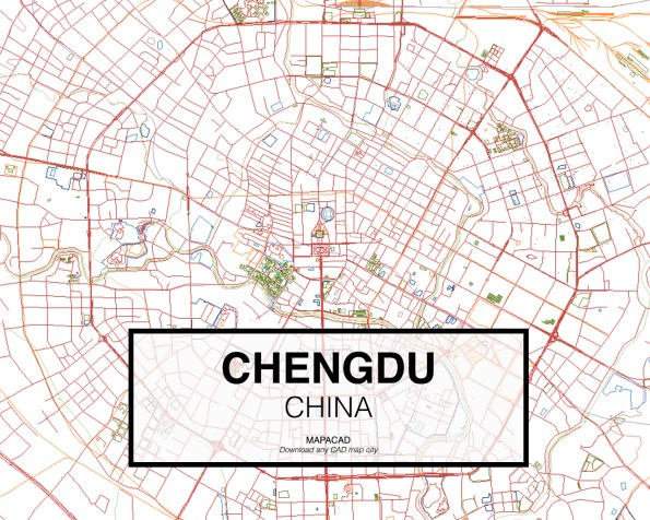 Chengdu-China-02-Mapacad-download-map-cad-dwg-dxf-autocad-free-2d-3d