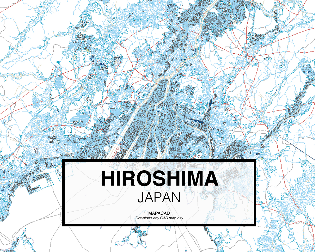 Hiroshima dwg mapacad hiroshima japan 01 mapacad download map cad dwg gumiabroncs Gallery