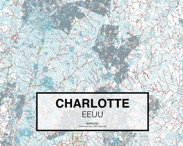 Charlotte-EEUU-01-Mapacad-download-map-cad-dwg-dxf-autocad-free-2d-3d