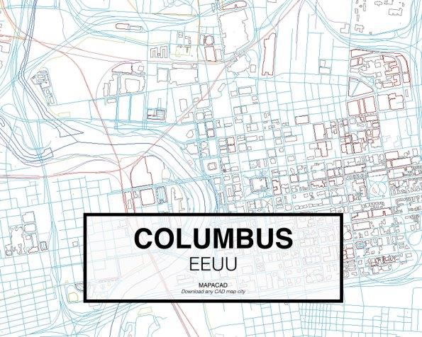Columbus-EEUU-02-Mapacad-download-map-cad-dwg-dxf-autocad-free-2d-3d