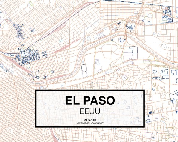 El-Paso-EEUU-02-Mapacad-download-map-cad-dwg-dxf-autocad-free-2d-3d
