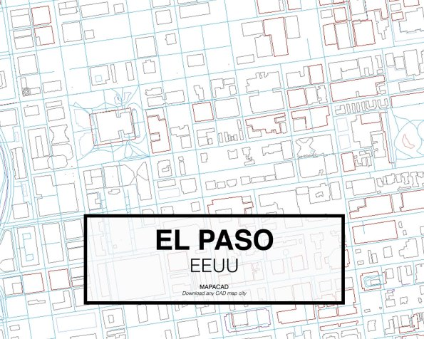 El-Paso-EEUU-03-Mapacad-download-map-cad-dwg-dxf-autocad-free-2d-3d