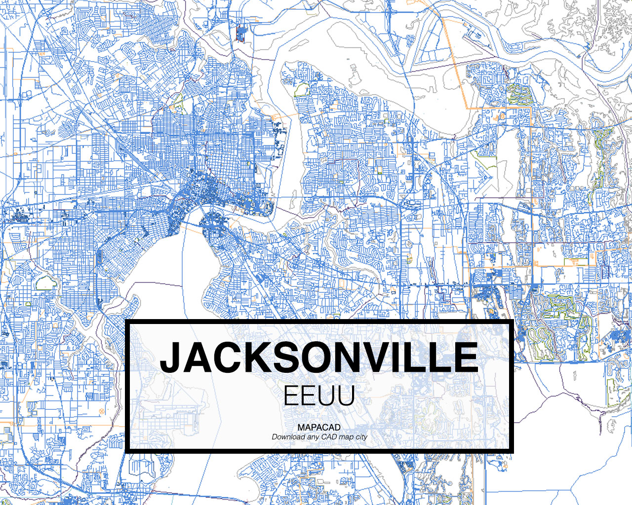 Download jacksonville dwg mapacad jacksonville eeuu 01 mapacad download map cad dwg gumiabroncs Gallery