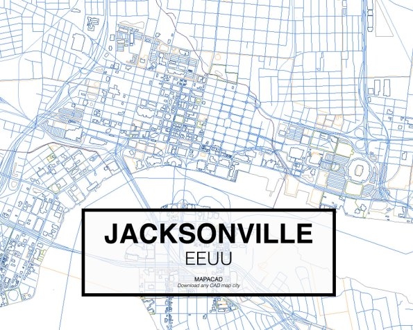Jacksonville-EEUU-03-Mapacad-download-map-cad-dwg-dxf-autocad-free-2d-3d