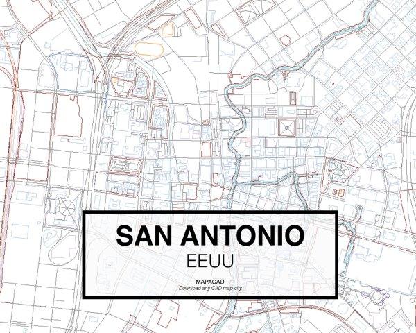 San-Antonio-EEUU-03-Mapacad-download-map-cad-dwg-dxf-autocad-free-2d-3d