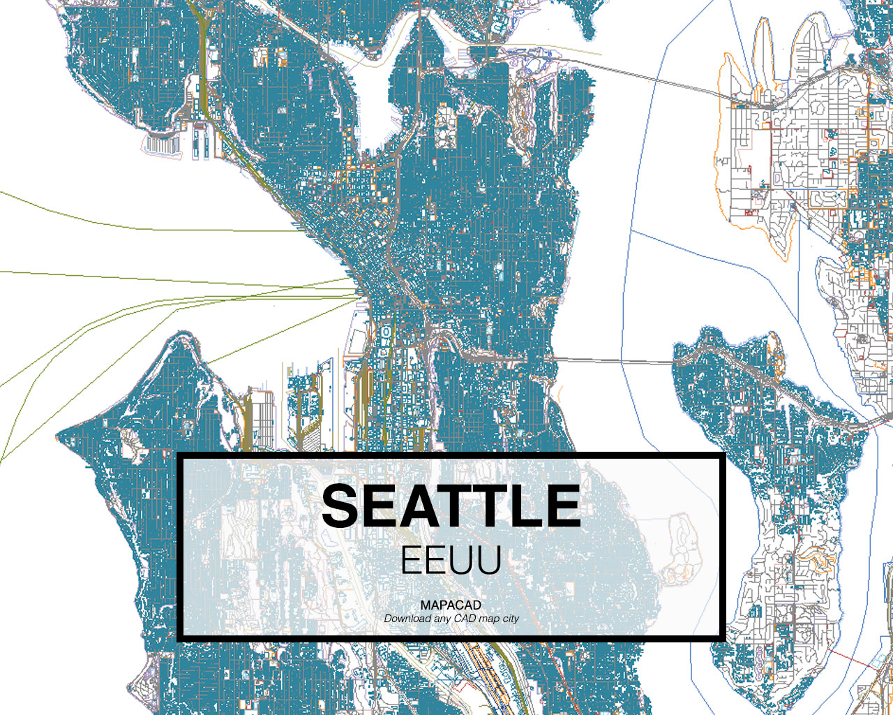 Download Seattle DWG Mapacad