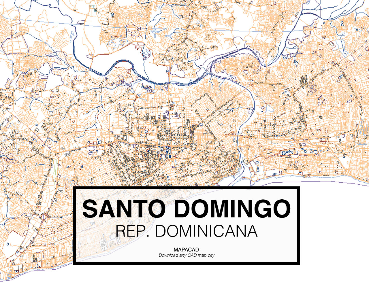 Download kingstondwg mapacad santo domingo republica dominicana 01 mapacad download map gumiabroncs Image collections