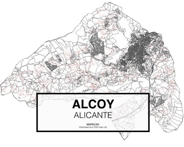 Alcoy-Alicante-01-Mapacad-download-map-cad-dwg-dxf-autocad-free-2d-3d