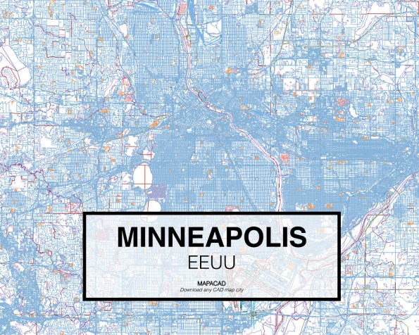 Minneapolis-EEUU-01-Mapacad-download-map-cad-dwg-dxf-autocad-free-2d-3d