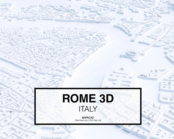 Rome-03-3D-model-download-printer-architecture-free-city-buildings-OBJ-vr-mapacad