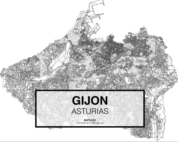 Gijon-Asturias-01-Mapacad-download-map-cad-dwg-dxf-autocad-free-2d-3d