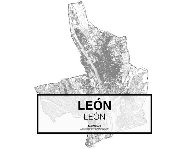 Leon-Castilla y Leon-01-Cartografía-Mapacad-download-map-cad-dwg-dxf-autocad-free-2d-3d