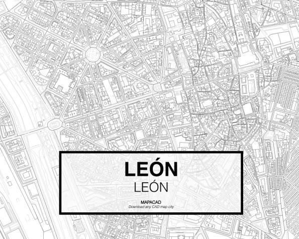 Leon-Castilla y Leon-02-Cartografía-Mapacad-download-map-cad-dwg-dxf-autocad-free-2d-3d