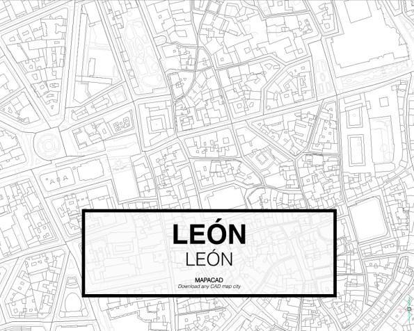Leon-Castilla y Leon-03-Cartografía-Mapacad-download-map-cad-dwg-dxf-autocad-free-2d-3d