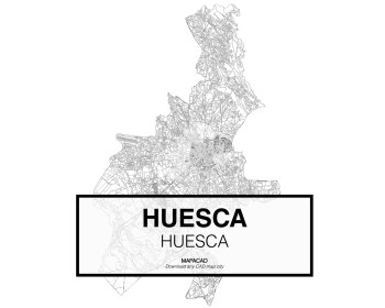 Huesca-Aragon-01-Mapacad-download-map-cad-dwg-dxf-autocad-free-2d-3d
