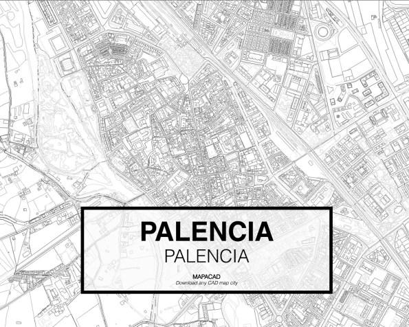 Palencia-Castilla Leon-02-Mapacad-download-map-cad-dwg-dxf-autocad-free-2d-3d