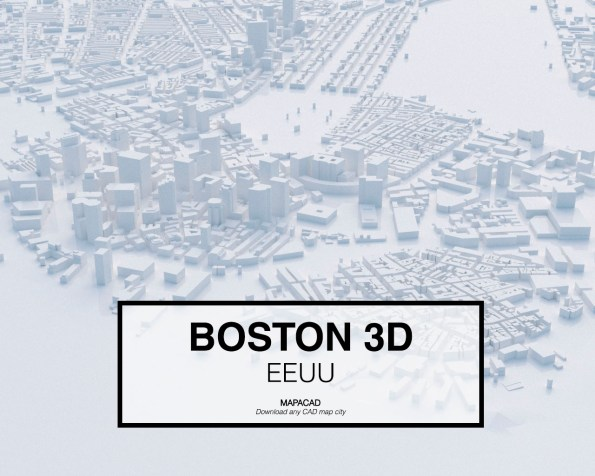 Boston-EEUU-01-3D-Mapacad-download-map-cad-dwg-dxf-autocad-free-2d