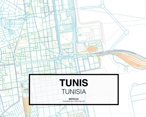 Tunis-Tunisia-03-Mapacad-download-map-cad-dwg-dxf-autocad-free-2d-3d