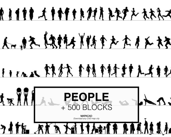 People-Block-02-Mapacad-download-map-cad-dwg-dxf-autocad-free-2d-3d