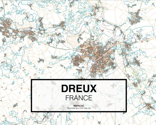 Dreux-France-01-Mapacad-download-map-cad-dwg-dxf-autocad-free-2d-3d