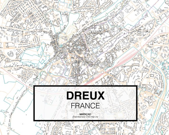 Dreux-France-02-Mapacad-download-map-cad-dwg-dxf-autocad-free-2d-3d