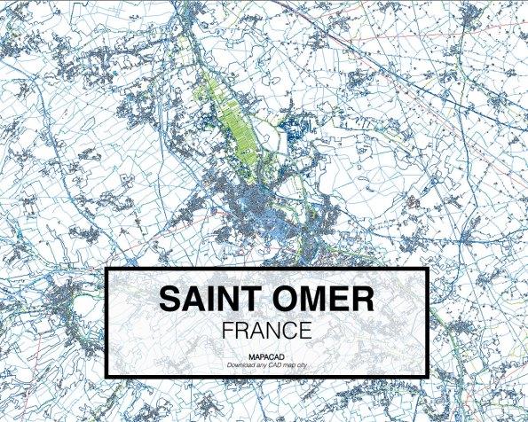 Saint-Omer-France-01-Mapacad-download-map-cad-dwg-dxf-autocad-free-2d-3d