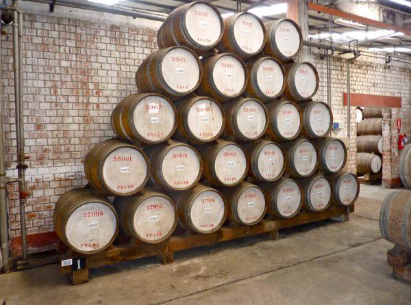 Sistema de Soleira do Rum Cartavio Solera 1929