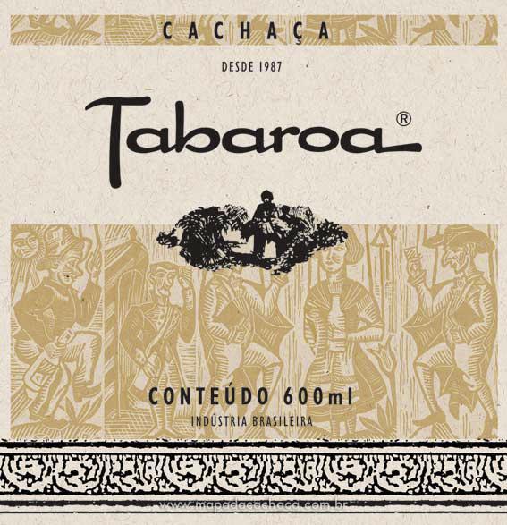 Rotulo da Cachaça Tabaroa