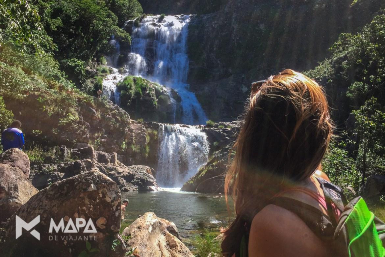 Cachoeira Candaru, perto de Cavalcante.