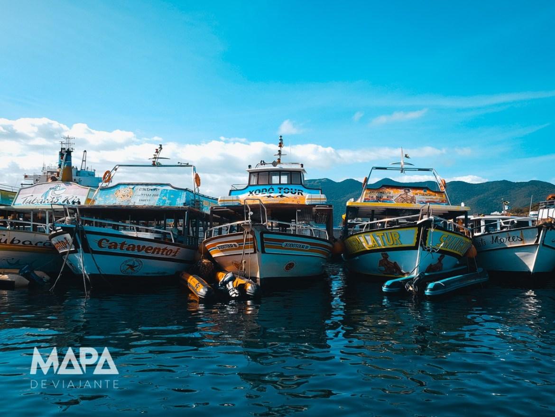 Marina dos Pescadores em Arraial do Cabo