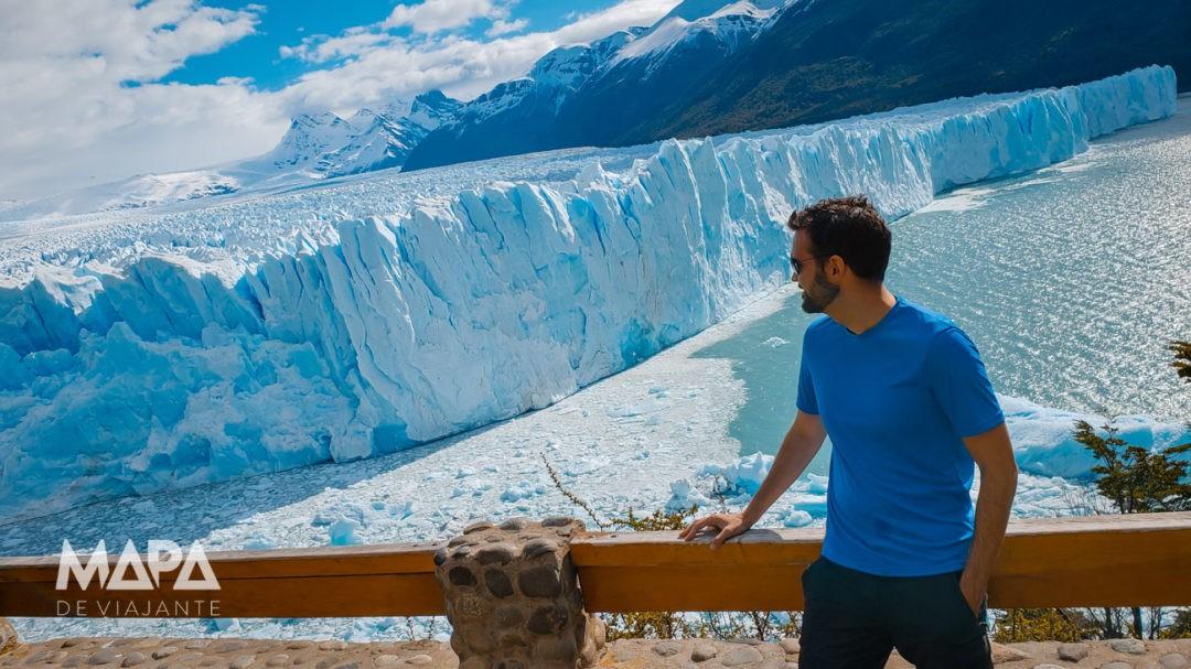 Passarelas do Perito Moreno na Patagônia Argentina
