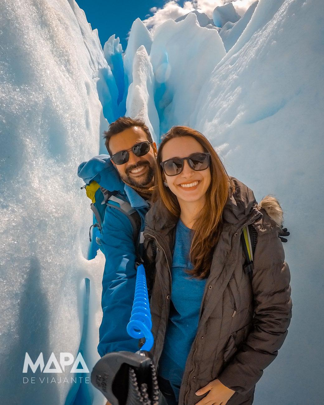 Mapa de Viajante: Perito Moreno