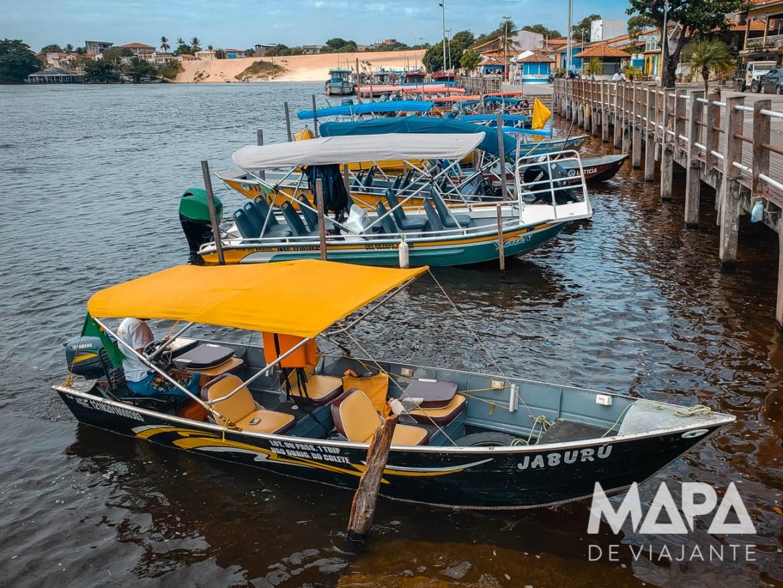 Voadeira Rio Preguiças Lençóis Maranhenses