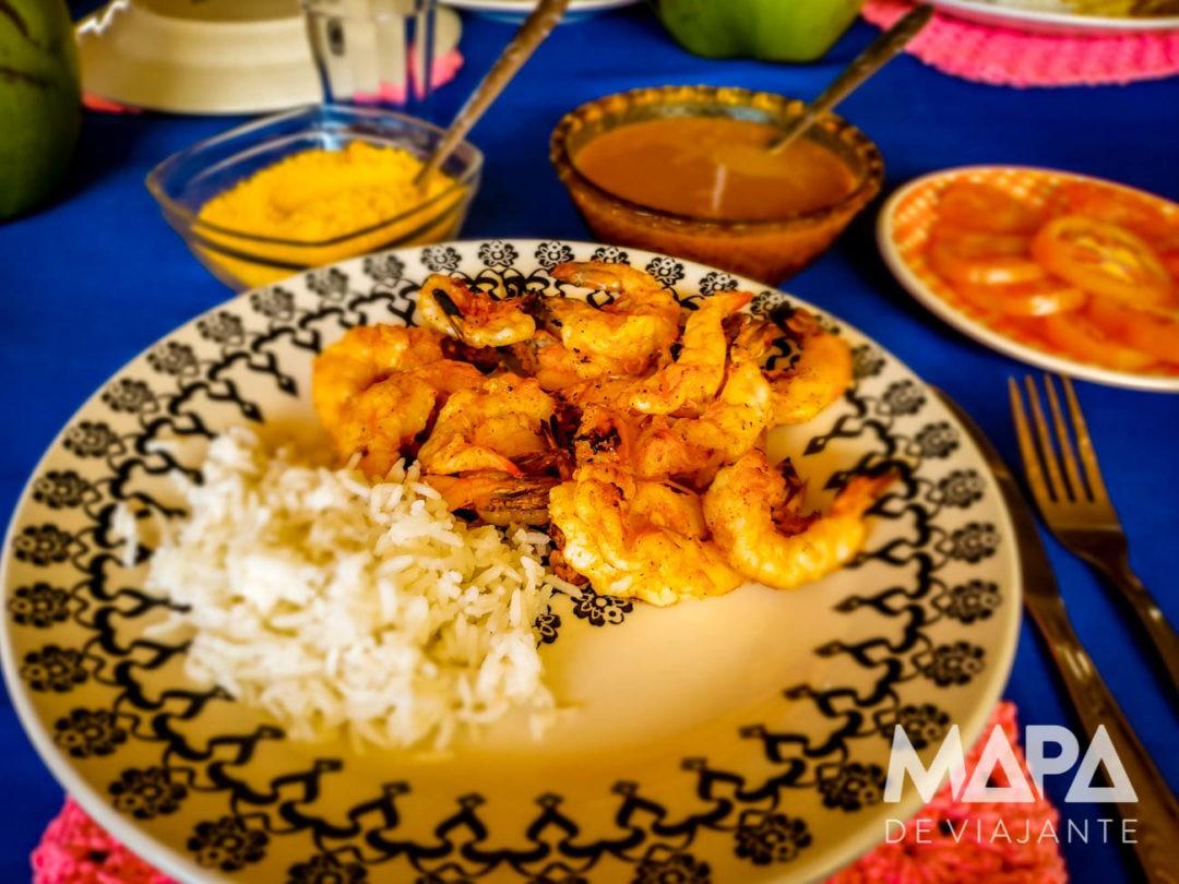 Canto de Atins Restaurante da Luzia Onde comer Lençóis Maranhenses