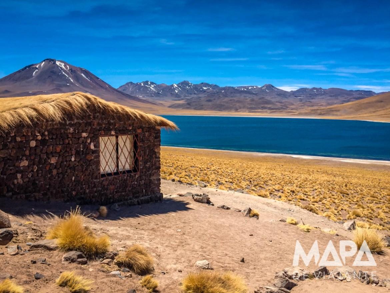 Mapa de Viajante Roteiro Deserto do Atacama Lagoa Miscanti