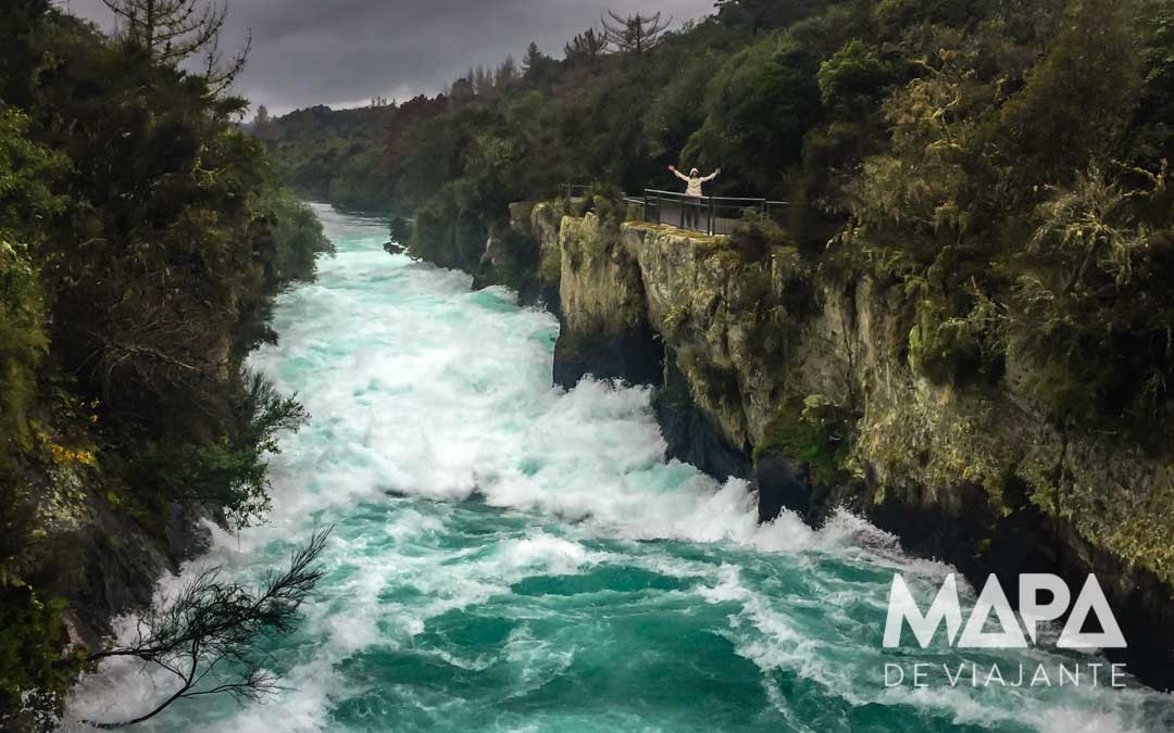 Roteiro Nova Zelândia Huka Falls