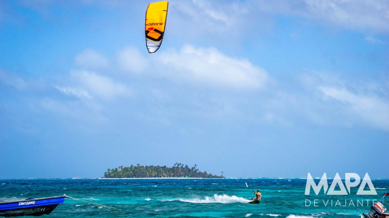Kite surf na Spratt Bight