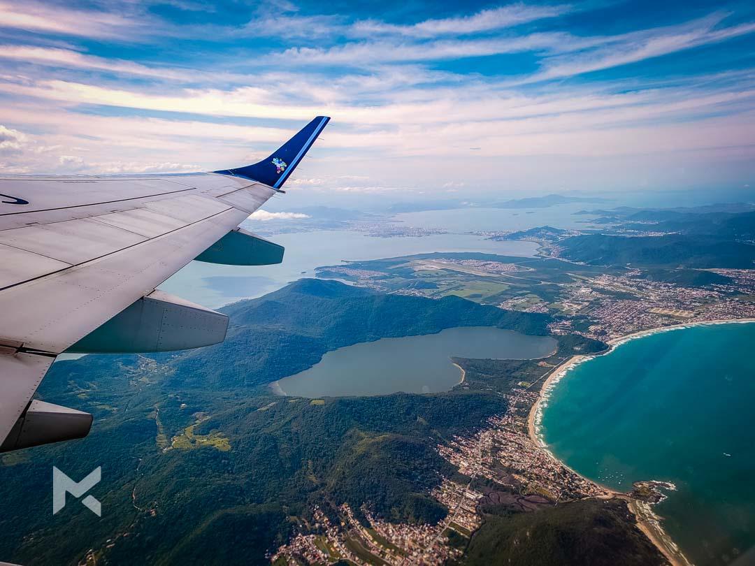 Avião voo Florianópolis Santa Catarina