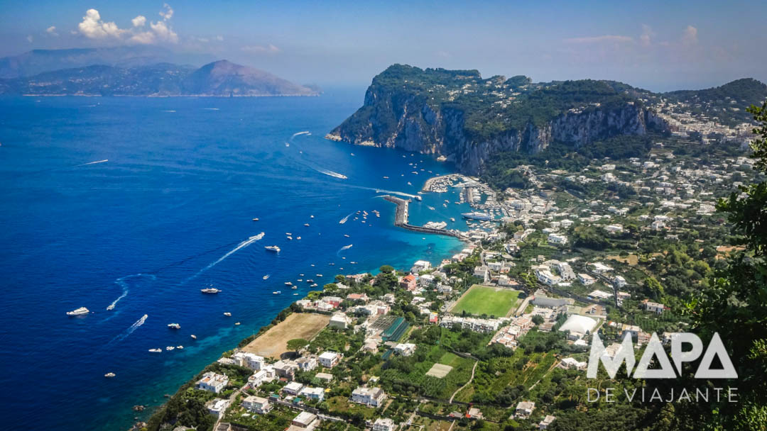 Ilha de Capri Itália