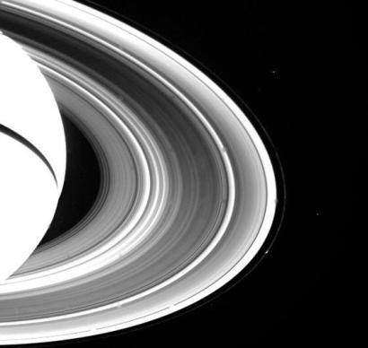 PIA01955_aneis de Saturno imagem Nasa