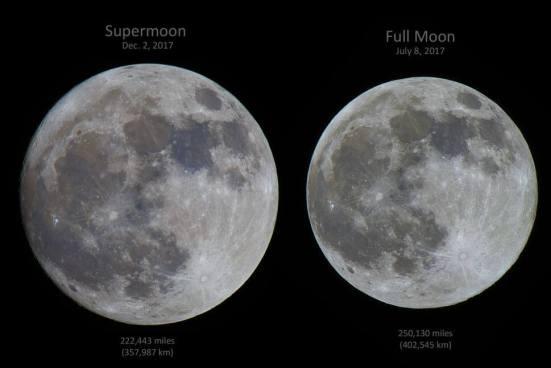 Superlua 2017 - foto do astrônomo Gowrishakhar Lakshminarayanan