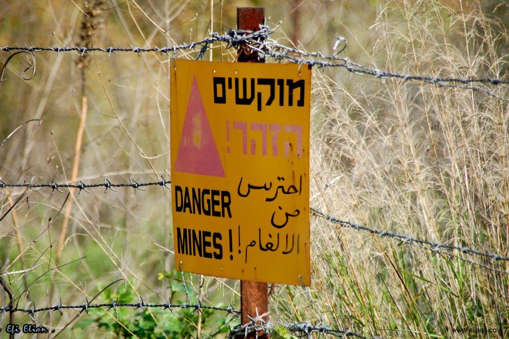 על פסגת הר געש בארץ ישראל (הר בנטל)