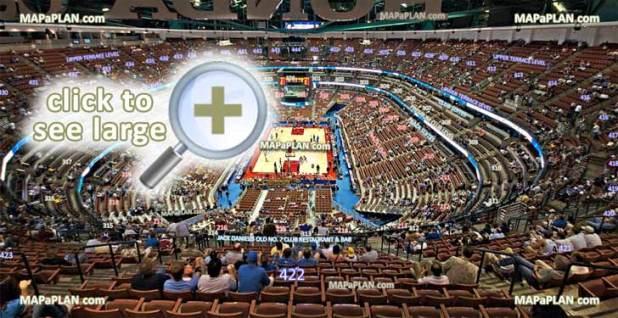 Honda Center Seating Chart Basketball