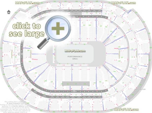 Us Bank Arena Seating Chart With Rows And Seat Numbers