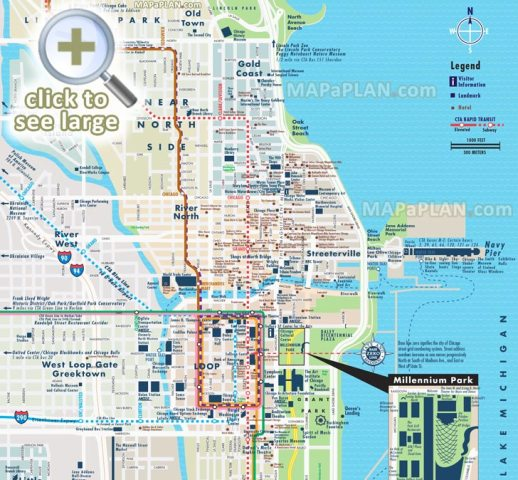 Another Maps [Get Maps on HD] » chicago cta metra subway map   Full ...