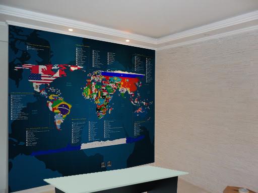 aplicação mapa-mundi