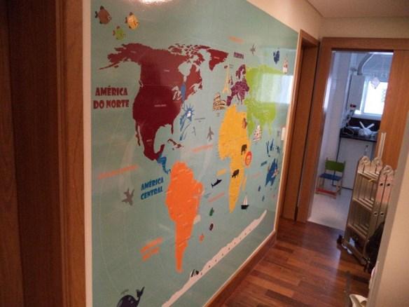 mapa mundi infantil aplicado