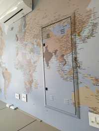 Papel de Parede Mapa Mundi sob medida - Foto 4