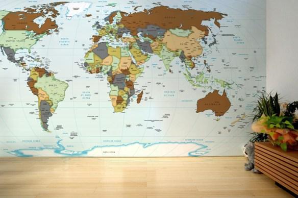 Mapa mundi comprar my blog for Donde venden papel mural